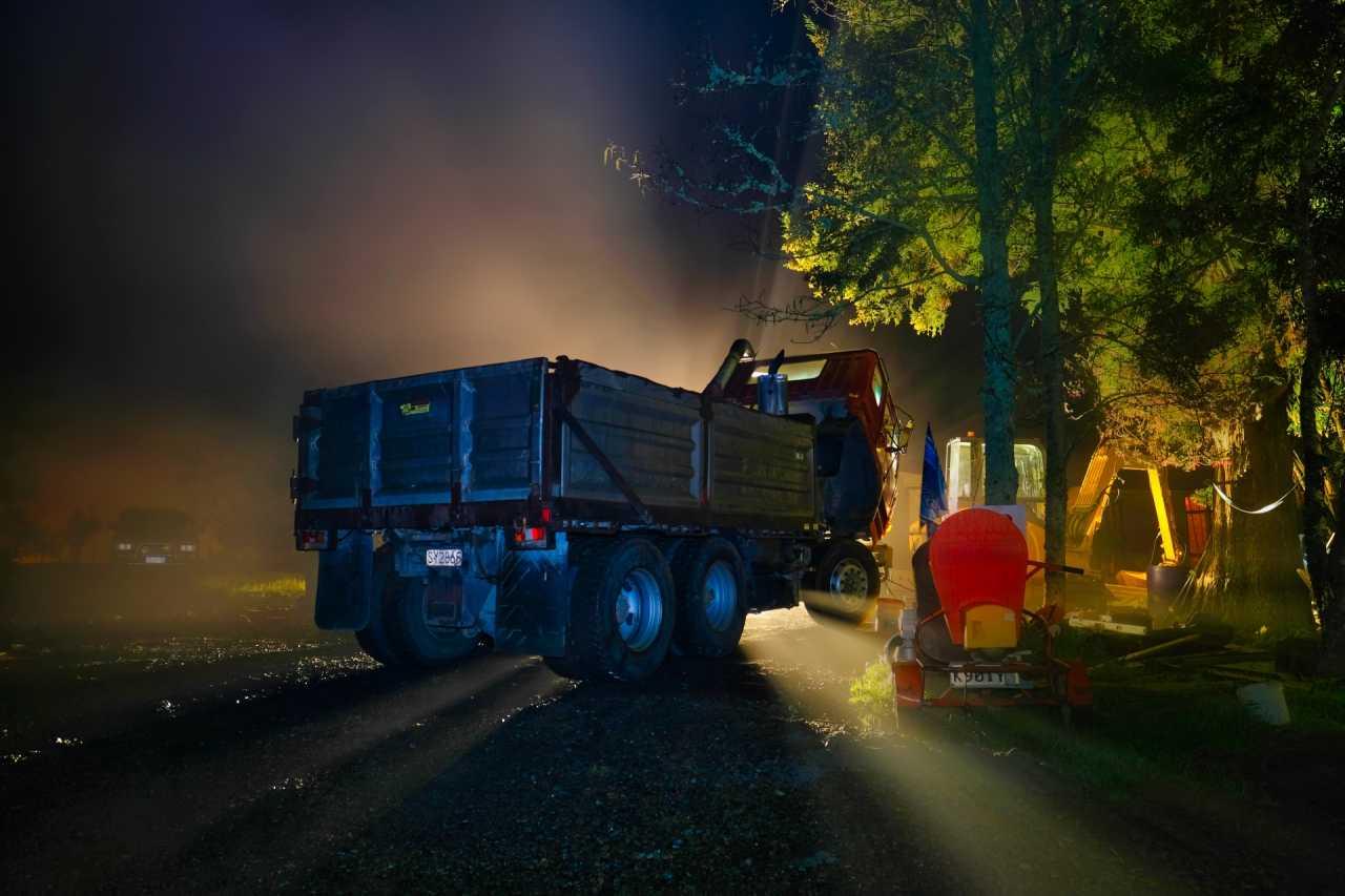 Foggy Night In Whenuapai